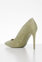 Call It Spring - Mykel stiletto court - green