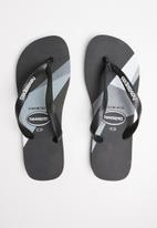 Havaianas - Top trend flip flop - black & grey