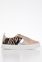 Call It Spring - Augustiski sneaker - pink & black