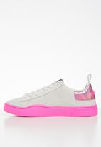 Diesel  - S-clever lc w - star white / pink fluo