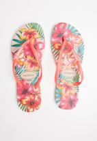 Havaianas - Slim hibisco - pink