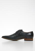 Gino Paoli - Trent pin-punch formal shoe - navy