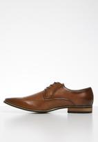 Gino Paoli - Trent pin-punch formal shoe - brown