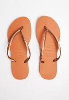 Havaianas - Slim flip flops - orange