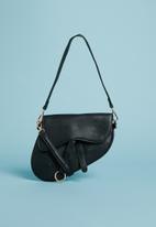 Superbalist - Saddle clutch bag - black