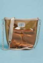 Superbalist - Pez trapeze bag - brown