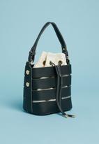 Superbalist - Cut out detail bucket bag - black