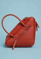 Superbalist - Triangular shape bag - red