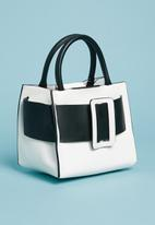 Superbalist - Beth mini bag - black & white