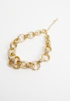 Superbalist - Ring pendant necklace - gold