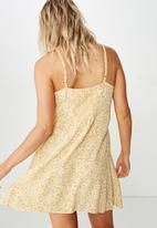 Cotton On - Woven Kendall mini dress  - multi