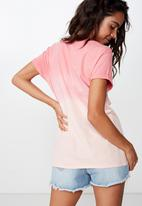 Cotton On - Classic slogan T-shirt - pink