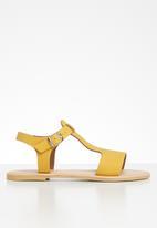 Superbalist - Zandi leather sandal - yellow
