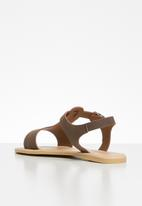 Superbalist - Zandi leather sandal - brown