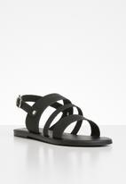 Superbalist - Jojo leather sandal - black