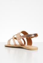 Superbalist - Jojo leather sandal - rose gold