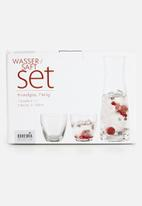 Bohemia Crystal - 7pce glass and decanter set