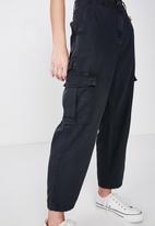 Cotton On - Breya utility pant - black