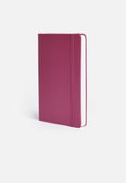 Moleskine - 2020 a5 hardcover daily diary - pink