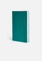 Moleskine - 2020 A5 hardcover daily diary - green