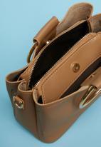Superbalist - Double ring handle bag - tan
