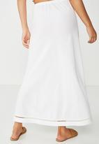 Cotton On - Woven lola bias midi skirt - white