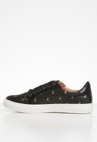 POLO - Natalie monogram sneaker - black