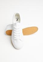 POLO - Chloe leather sneaker - white