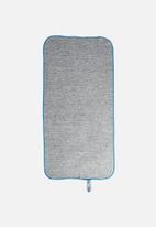 Bobums - Single gym towel - melange turqious