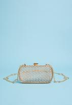 dailyfriday - Cage bag - gold