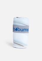Bobums - Single gym towel - stone