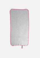 Bobums - Single gym towel - melange cherry