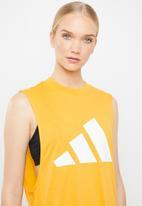 adidas - Tank top win - yellow