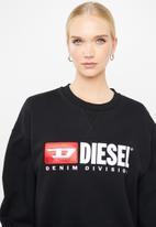 Diesel  - F - Arap felpa sweat - black