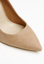 ALDO - Suede wider stiletto pump - beige