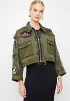 Diesel  - G - Anapay jacket - khaki