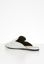 ALDO - Delilmad leather mule - white