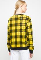Nike - Nike fleece crew - black & yellow
