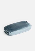 Sixth Floor - Velvet bedwrap - dark teal