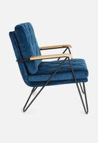 Sixth Floor - Carrera resting chair - navy