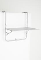 Sixth Floor - Bistro balcony table - grey