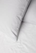 Sixth Floor - Cotton pillowcase set - grey