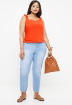 New Look - Frill strap cami - orange