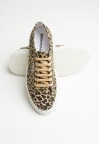 SUPERGA - 2287 canvas animal printed - classic leopard