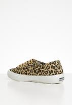 SUPERGA - 2750 canvas animal printed - classic leopard