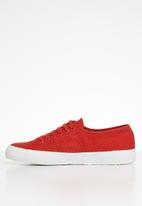SUPERGA - 2750 cotu classic canvas - red & white