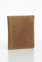 Pringle - Harry twofold leather wallet - tan