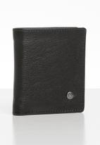 Pringle - Harry twofold leather wallet - black