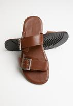 Superbalist - Jaxon slide - tan