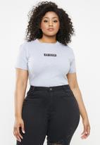 Missguided - Curve new season bodysuit - grey